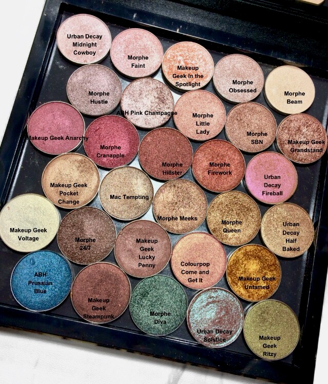 Neutral Shimmer Eyeshadow Palette